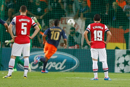 Montpellier 1 Arsenal 2: Goals from Podolski and Gervinho earn Gunners battling win