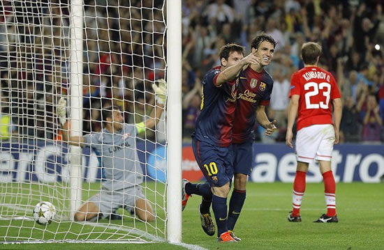 Messi rescues Barcelona from embarrassing home defeat to Spartak