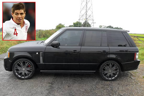 Steven Gerrard flogs his £120k Range Rover on AutoTrader - for just £58k