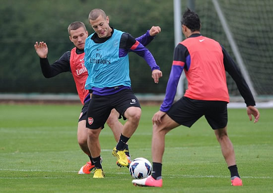 Jack 'thought he'd never get back': Returning Wilshere frustrated by rate of recovery