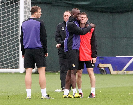 My patience with Balotelli is endless! Mancini admits he has soft spot for Mario