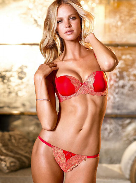 Erin Heatherton Poses in Bikini