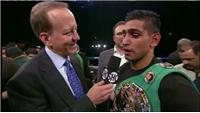 Khan on his win over Molina
