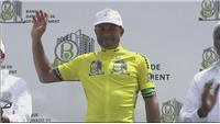 Yohann Gene wins stage six of the Tour of Gabon