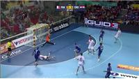 Handball: France beaten by Croatia