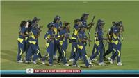 Sri Lanka through to super sixes after knocking out India