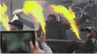 Ravens celebrate Superbowl win in Baltimore