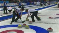 Latsest action from Men's World Curling Championships