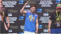 Zou Shiming faces up to Valenzuela ahead of fight