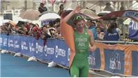 Ryan Fisher takes first triathlon World Cup win