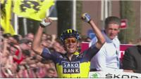 Kreuziger cruises to victory at the Amstel Gold Race