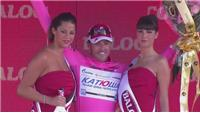 Luca Paolini wins third stage of Giro dItalia
