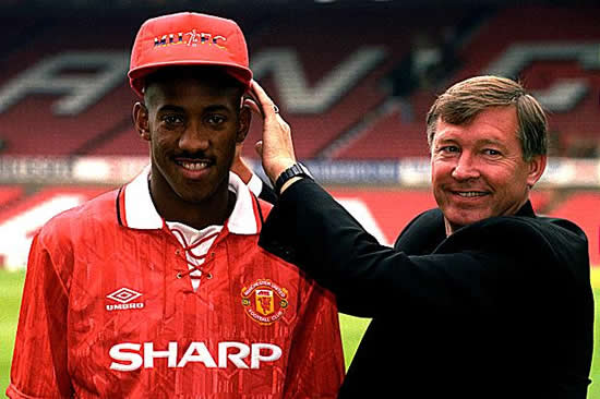 I took Fergie's hairdryer on the chin and in the face. He shouted and spat at me but it worked — Dion Dublin