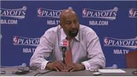 'Offensively we just did not have anything', says Woodson