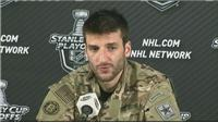 Bergeron and Lucic on the Bruins win over the Maple leafs