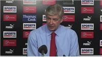 Arsene Wenger on UEFA CL qualification after 1-0 win in EPL