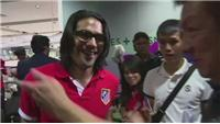 All eyes on Falcao as Atletico Madrid arrive in Singapore