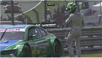 Rockenfeller wins German Touring Car Masters race at Brands Hatch