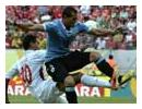 Uruguay 8 - 0 Tahiti: Abel Hernandez hits four as South Americans reach semi-finals