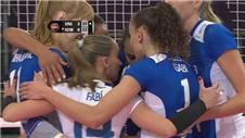 Volei win in straight sets against Iowa Ice at Women's Club World Championship