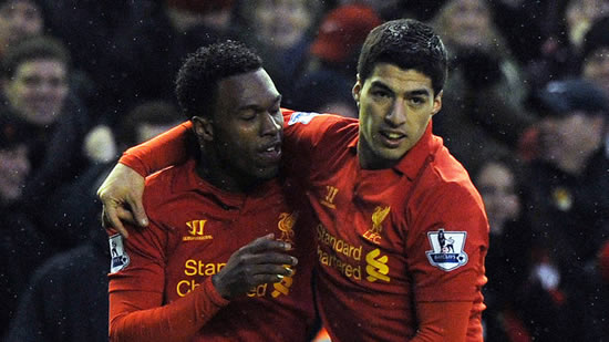 Liverpool striker Daniel Sturridge enjoys his partnership with Luis Suarez