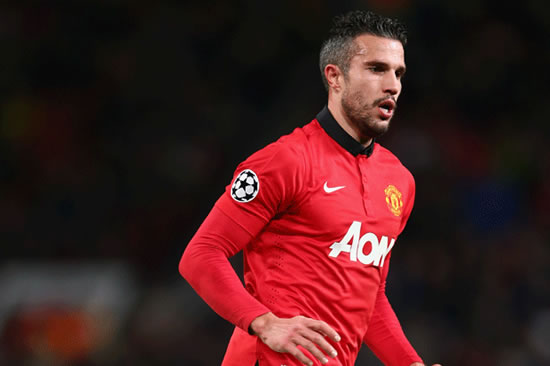 Manchester United star Robin van Persie free to play wherever he wants
