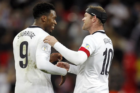 Daniel Sturridge and Wayne Rooney will put club rivalries to one side in the summer