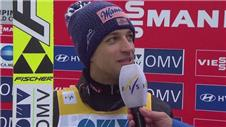 Kofler delighted by Austrias team ski jumping win