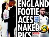 A 'twisted troll' threatens to post naked pictures on the England football team online [Star]