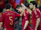 Spain warm up with 2-0 win over Bolivia