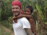Victoria Beckham is worried about David's trip to the Amazon... his hair, at least
