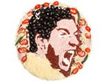 SNAPPED: Liverpool star Luis Suarez turned into a PIZZA!