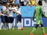 France 2 : 0 Nigeria - Pogba heads France into last eight