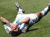 Di Maria's World Cup is over