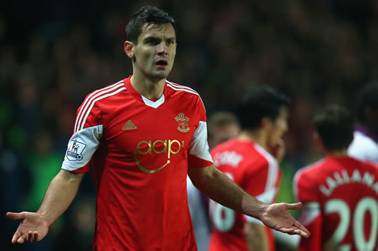 Liverpool target Dejan Lovren angry with Southampton over transfer block