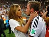Mario Gotze's girlfriend Ann Kathrin Brommel bags plenty of attention after WC final winning goal