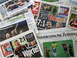 A nation reacts: How the German and Argentine press reported the World Cup final