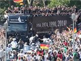 Champions Germany welcomed home in Berlin