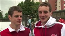 I never really set off to win medals- Alistair Brownlee