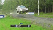 Latvala remains in lead at Rally Finland