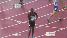Rudisha stunned as Amos takes Commonwealth gold