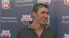Phelps pleased with Nation trails performance