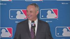 Rob Manfred elected as Major League Baseball's new commissioner to replace Bud Selig