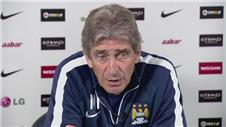 Pellegrini looks ahead to Liverpool clash
