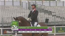 Britain's 'Godfather' wins Para-Dressage despite miscalculation