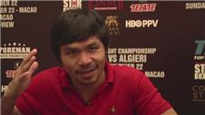 Pacquiao: Algieri fight exciting