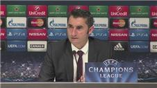 Valverde privileged to manage in the Champions League