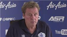 Redknapp assesses QPRs tactics and transfers