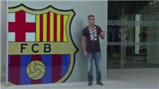 Barcelona unveil new signing Douglas