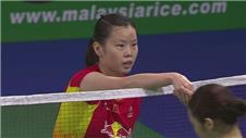 Li reaches World Championships final